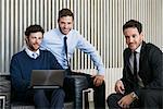 Business colleagues, portrait