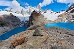 Lago de los Tres and Mount Fitz Roy, Patagonia, Argentina, South America