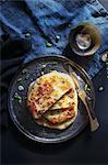 Chinese spring onion pancakes