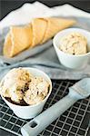 Vegan hazelnut ice cream
