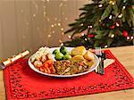 Nut Roast Christmas Dinner