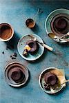 Peanut butter choco lava cake