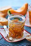 A jar of melon jam