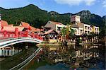 South-East Asia, Malaysia, Langkawi archipelago, a bridge