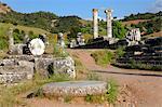 Turkey, province of Manisa (east of Izmir), Sardes (Sart or Sardis), Artemis temple site