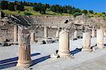 Turkey, province of Izmir, Selcuk, archeological site of Ephesus, the Odeon