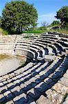 Tukey, province of Canakkale, Tevfikiye, Troy site (Truva), Unesco world heritage, the Odeon