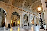 France, Paris, Ile de la Cite, inside the Courthouse. Salle des Pas Perdus