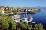 Turkey, province of Mugla, Fethiye, peninsula and bay of Fethiye