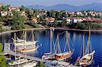 Turkey, province of Mugla, Fethiye, Fethiye peninsula and bay
