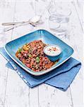 Chilli con carne with coriander