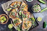 Quesadillas with fresh salsa