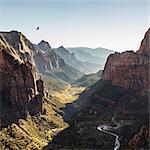 Angels Landing, Zion National Park, Springdale, Utah, USA