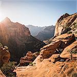 Scenic view, Zion National Park, Springdale, Utah, USA