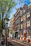 Chinatown at Geldersekade in Amsterdam, Holland