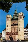 The Gate of Spalen (Spalentor), Basel, Switzerland