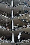Full frame shot of demolished building