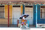 Cuba, Republic of Cuba, Central America, Caribbean Island. Havana district. Outskirts of Havana