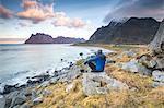Uttakleiv beach, Lofoten Islands, Norway