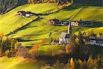 Santa Magdalena, Funes valley, South Tyrol region, Trentino Alto Adige, Bolzano province, Italy, Europe