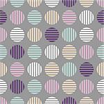 Seamless cloth pattern. Geometric striped dots. Halftone soft colors design.