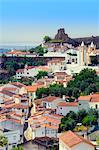 Alegrete, a dramatic Portuguese medieval hill-top village near Portalegre in the Alentejo region bordering Spain, Portugal, Europe