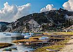Challa Pampa Village, Island of the Sun, Titicaca Lake, La Paz Department, Bolivia, South America