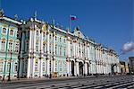 State Hermitage Museum, UNESCO World Heritage Site, St. Petersburg, Russia, Europe