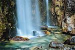 Theth Waterfall, Theth, The Accursed Mountains, Albania, Europe
