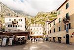 Stari Grad (Old Town) of Kotor, Bay of Kotor, Montenegro, Europe