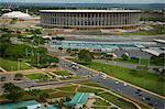 Estadio Nacional Mane Garrincha and Nilson Nelson Gymnasium, part of the Poliesportivo Ayrton Senna Complex, Brasilia, Brazil, South America