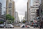 Paulista Avenue, the financial heart of Sao Paulo, Brazil, South America