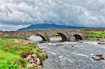 The historic bridge at Sligachan, Isle of Skye, Inner Hebrides, Scotland