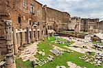 Trajan's Markets, Roman ruins, Forum area, Historic Centre (Centro Storico), Rome, UNESCO World Heritage Site, Lazio, Italy, Europe