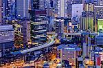 The city, Osaka, Kansai region, Honshu island, Japan, Asia