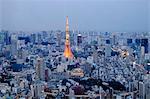 Tokyo Tower, Roppongi Hills, Tokyo, Japan, Asia