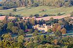 Sudeley Castle in autumn, Winchcombe, Cotswolds, Gloucestershire, England, United Kingdom, Europe