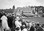 1910s 1916 DAVIS CUP TENNIS MATCH AT THE FOREST HILLS TENNIS CLUB LONG ISLAND NEW YORK USA