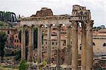 Foro Romano (Roman Forum) ancient ruins, UNESCO World Heritage Site, Rome, Lazio, Italy, Europe
