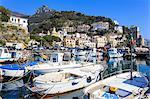 Cetara, picturesque and unpretentious fishing village, Amalfi Coast, UNESCO World Heritage Site, Campania, Italy, Europe