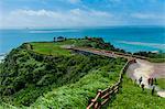 Sacred site of Sefa Utaki, UNESCO World Heritage Site, Okinawa, Japan, Asia
