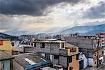 Cityscape of Quito, Ecuador, South America