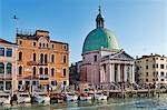 San Simeone Piccolo church on the Grand Canal, Venice, UNESCO World Heritage Site, Veneto, Italy, Europe