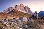 Mount Pelmo and Pelmetto as seen from Col Roan, Dolomites, Borca di Cadore, Belluno, Veneto, Italy