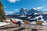 Alpe di Siusi/Seiser Alm, Dolomites, South Tyrol, Italy.