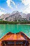Lake Braies,Braies,Bolzano province,Trentino Alto Adige,Italy