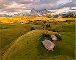 Alpe di Siusi/Seiser Alm, Dolomites, Kastelruth, South Tyrol, Italy.