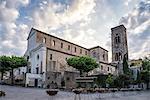 The quaint 11th century church in Ravello