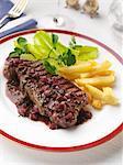 Bordelaise sirloin steak