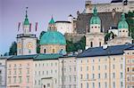 View of the Altstadt (The Old City), UNESCO World Heritage Site, Salzburg, Austria, Europe